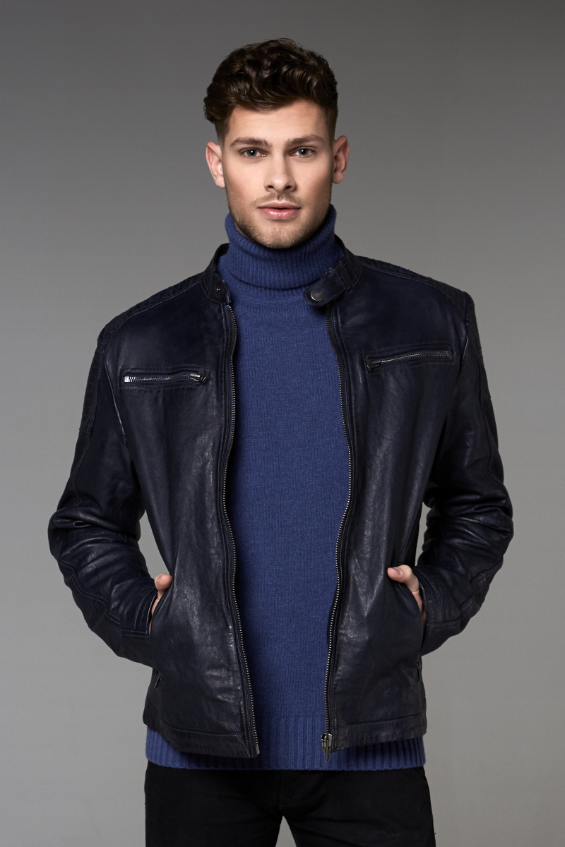Aimwear Leather Men Jacket